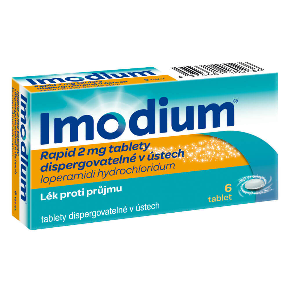 IMODIUM RAPID 2 MG POR TBL DIS 6X2MG