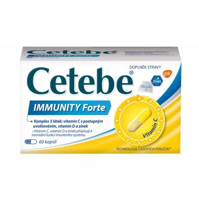 CETEBE IMMUNITY FORTE  60 CPS