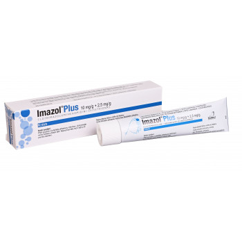 IMAZOL PLUS crm 1x30gm