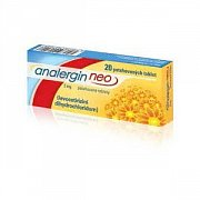 ANALERGIN NEO 5 MG POR TBL FLM 20X5MG.