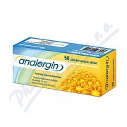 ANALERGIN 50X10MG TBL