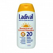 LADIVAL OF20 MLÉKO 200ML NORMAL