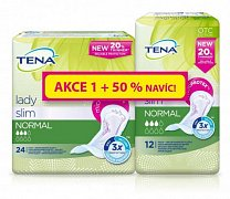 TENA LADY SLIM NORMAL + 50%NAVIC