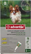 ADVANTIX SPOT -ON PRO PSY DO 4KG 1X0,4ML
