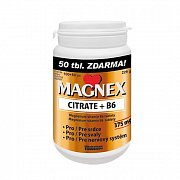 MAGNEX CITRATE 375MG+B6 100+50TBL