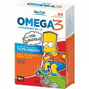 THE SIMPSONS OMEGA 3+VIT. D+E CPS 60