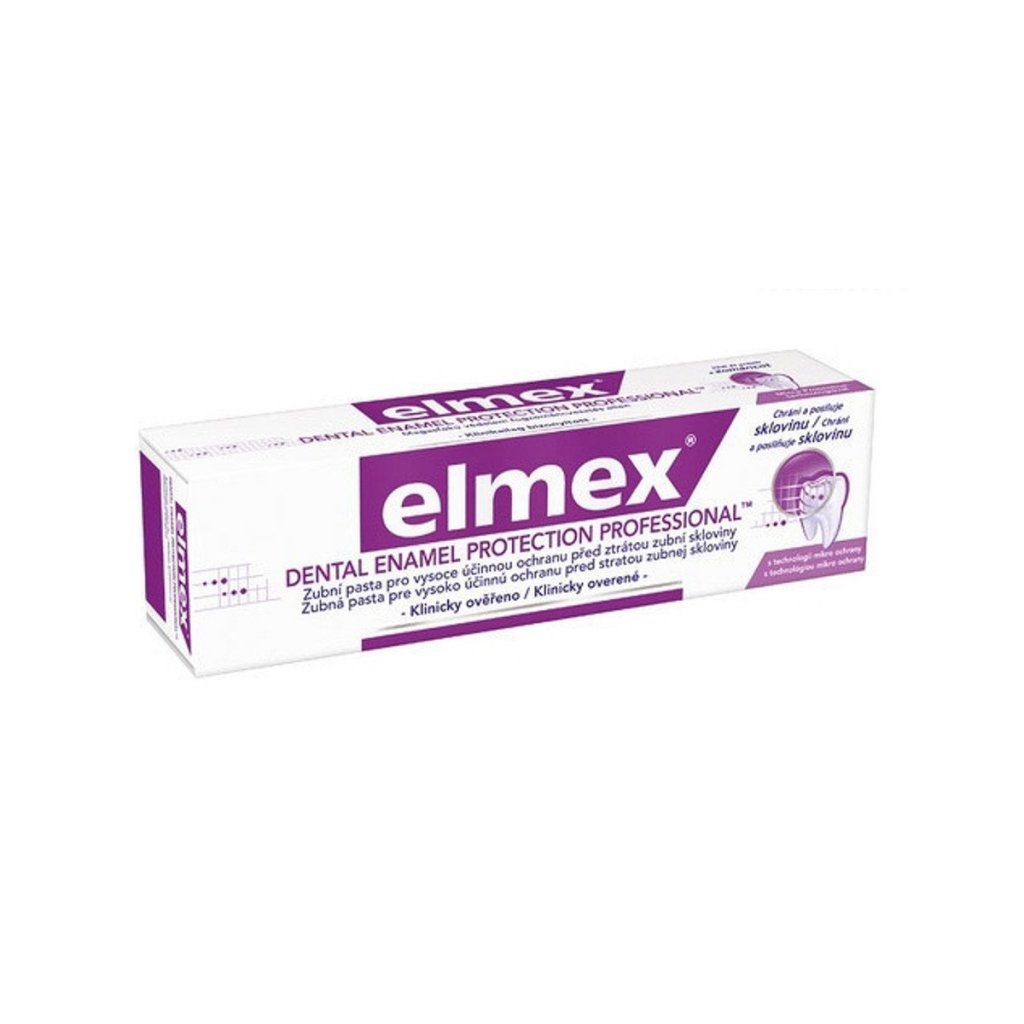 ZP ELMEX ENAMEL PPROTECTION PROFESSIONAL 75ML
