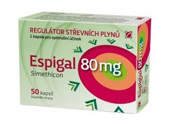 ESPIGAL 80MG  50CPS GALMED